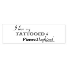 Tattooed Men Bumper Sticker