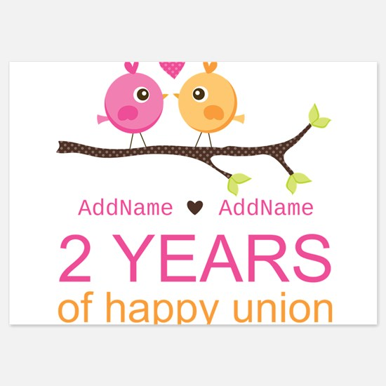 Two Years Of Happy Union Invitations