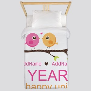 Two Years Of Happy Union Twin Duvet