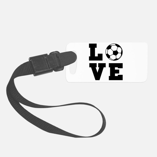 Soccer love Luggage Tag