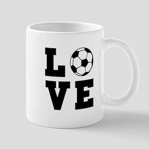 Soccer love Mugs