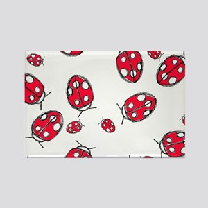 Ladybug Red Magnets