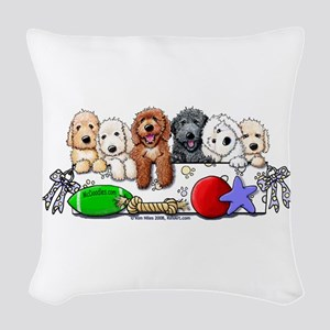 McDoodles Nursery Woven Throw Pillow