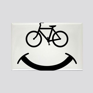 Bicycle smile Magnets