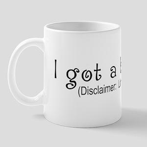 Limited Time Boob Job Mug