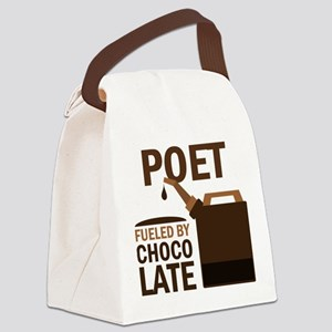 Poet Funny Quote Canvas Lunch Bag
