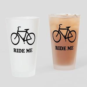 Bike ride me Drinking Glass