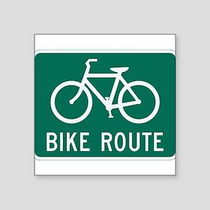 Bike route Sticker