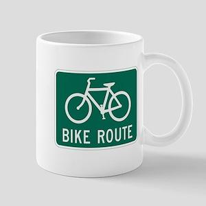 Bike route Mugs