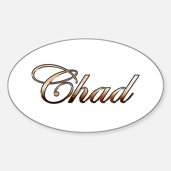 Chad Sticker (Oval)