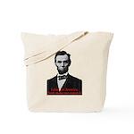 Abraham Lincoln's American Pride Tote Bag