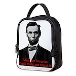 Abraham Lincoln's American Pride Neoprene Lunch Ba