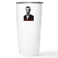 Abraham Lincoln's American Pride Travel Mug