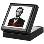 Abraham Lincoln's American Pride Keepsake Box