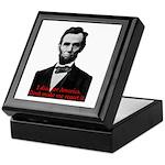 Abraham Lincoln's American Pride Keepsake Box