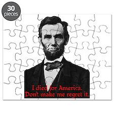 Abraham Lincoln's American Pride Puzzle