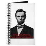 Abraham Lincoln's American Pride Journal