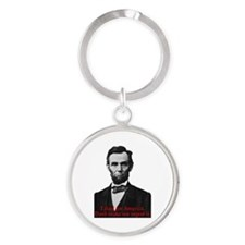 Abraham Lincoln's American Pride Keychains