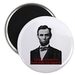 Abraham Lincoln's American Pride Magnets