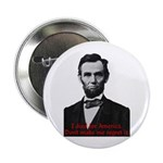"Abraham Lincoln's American Pride 2.25"" Button"