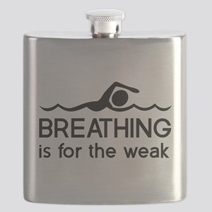 Breathing is for the weak Flask