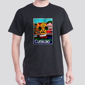 Curacao; Travel Vintage Poster T-Shirt