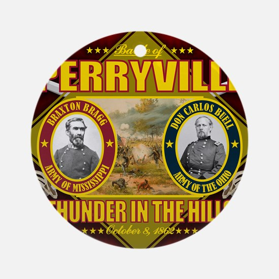 Perryville Round Ornament