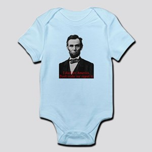 Abraham Lincoln's American Pride Body Suit