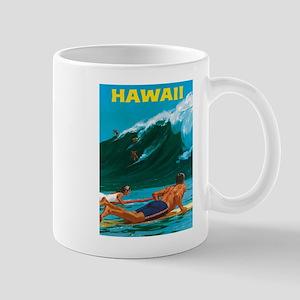 Hawaii, Travel Vintage Poster Mugs