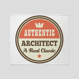 Authentic Architect Throw Blanket