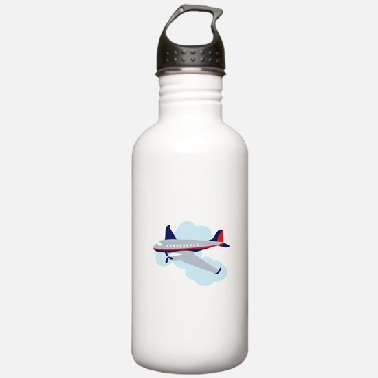 Flying Airplane Water Bottle