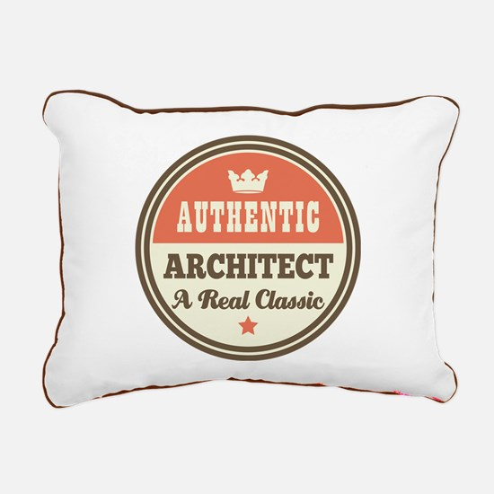 Authentic Architect Rectangular Canvas Pillow
