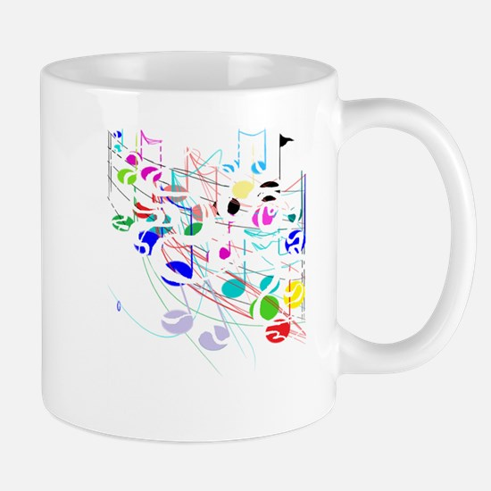 NOTES BLK COLOR 3 Mugs
