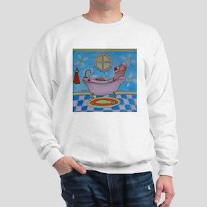 Bath Sock Monkey Sweatshirt