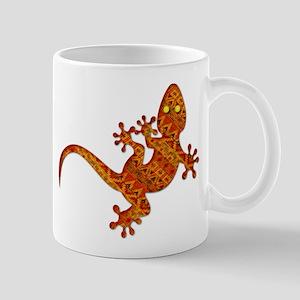 Gordon Gekko Aztec Lizard Mugs