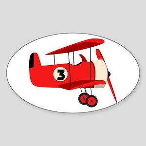 Vintage Airplane Sticker
