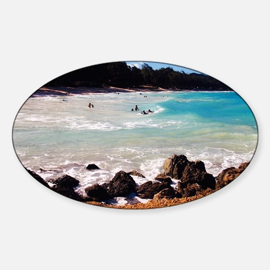 Cute Waimanalo Sticker (Oval)