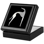 Hound Silhouette Keepsake Box