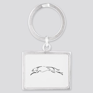 Shades Of Grey Greyhound Keychains