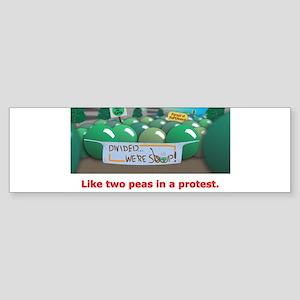 ...in a protest Sticker (Bumper)