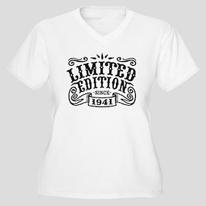 Limited Edition S Women's Plus Size V-Neck T-Shirt