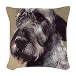 Irish Wolfhound Woven Throw Pillow