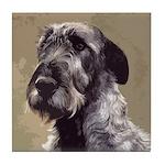 Irish Wolfhound Tile Coaster
