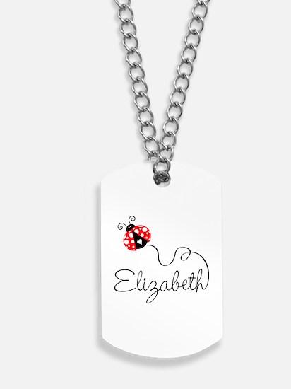 Ladybug Elizabeth Dog Tags