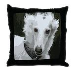 New Silken Portrait Throw Pillow