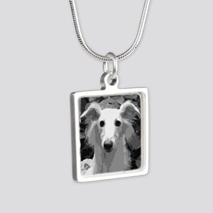 Silken Windhound Portrait Necklaces