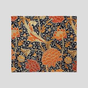 William Morris Cray Throw Blanket
