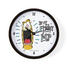 Friday Garfield Wall Clock