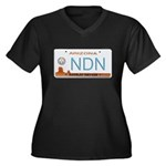 Navajo Nation NDN plate Women's Plus Size V-Neck D