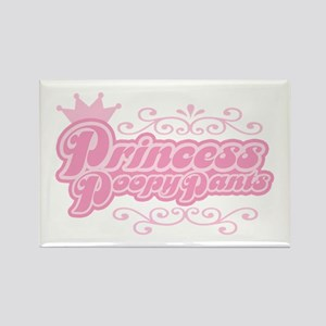 Princess PoopyPants Rectangle Magnet